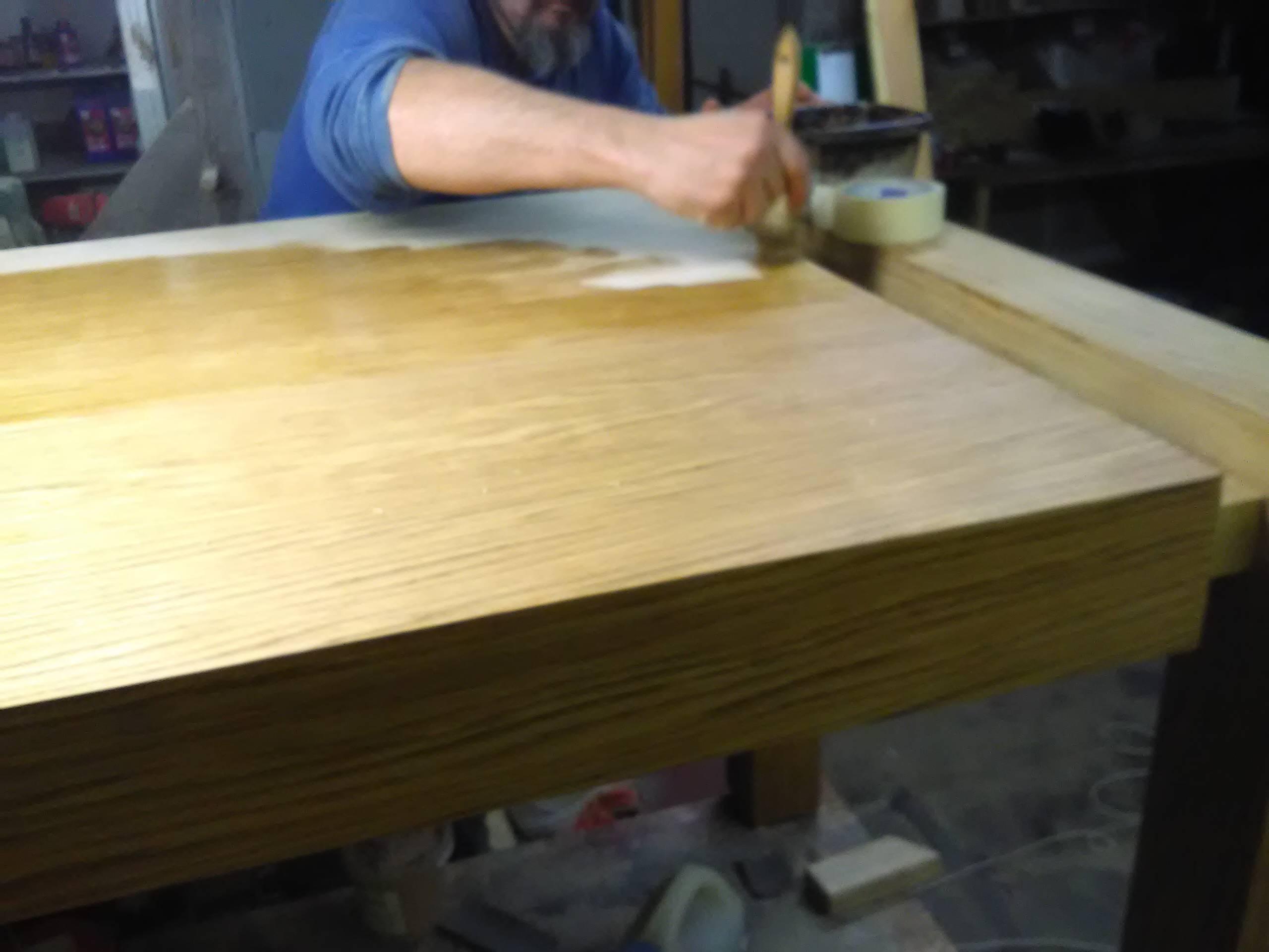 olejowanie stołów, meble drewniane olejowane wrocław na zamówienie