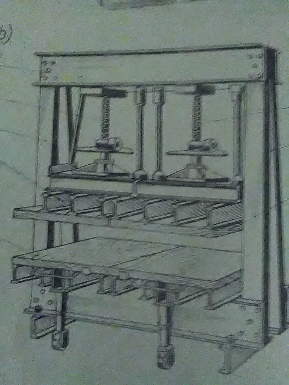 śrubowa prasa do klejenia drewna
