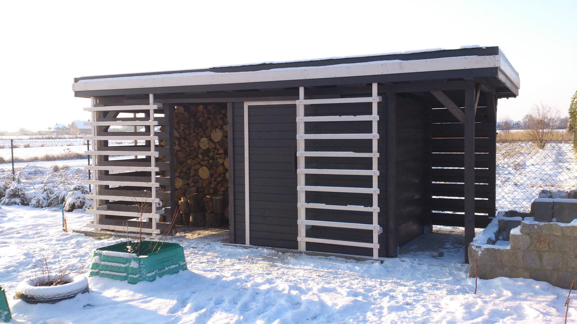 drewutnia drewniana budynek gospodarczy z drewna wrocław