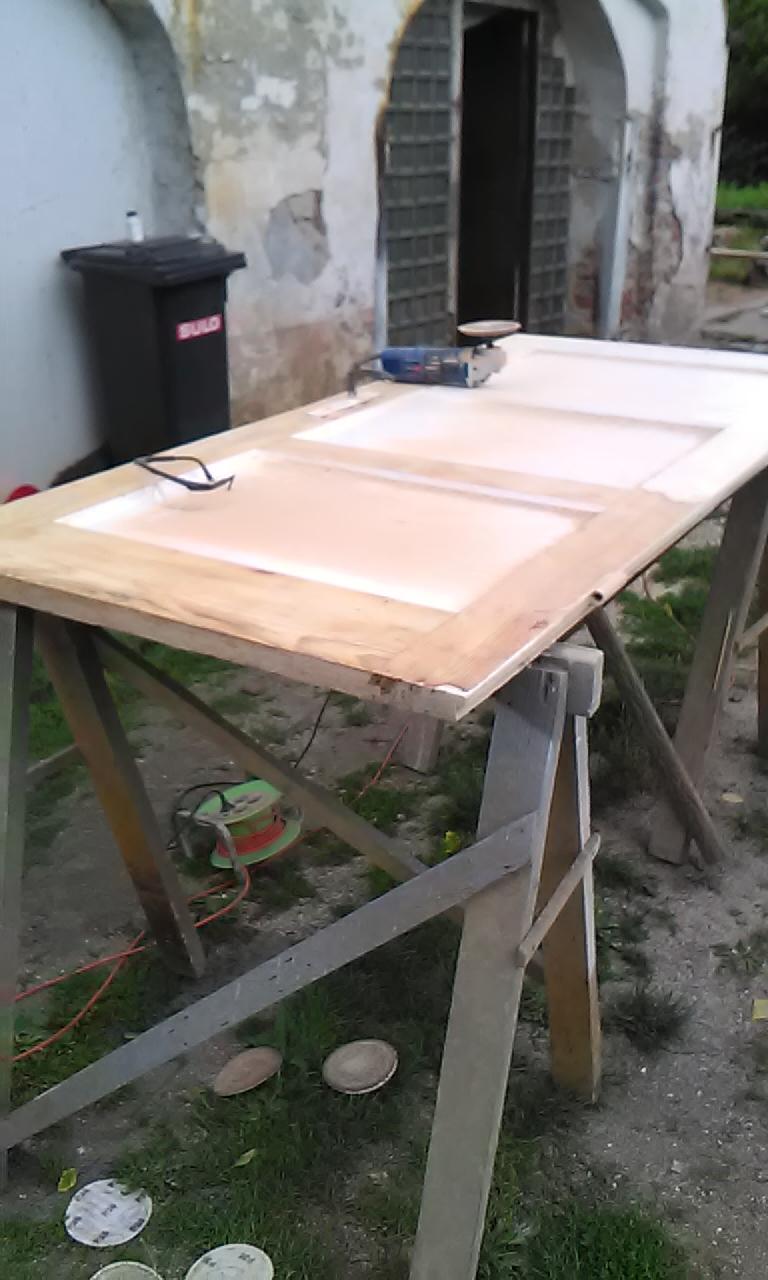 renowacja skrzydła drzwiowego sosnowego na zamówienie wrocław