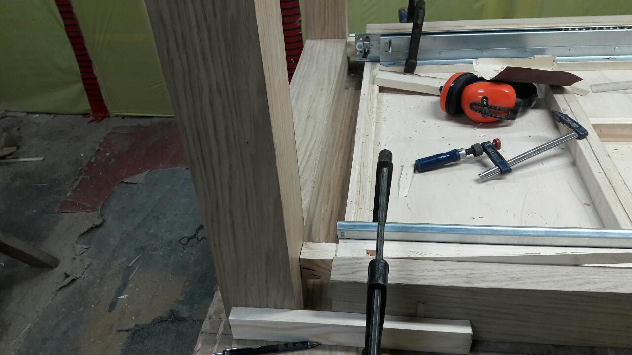 prowadnica do stołu drewnianego kombinowana wrocław
