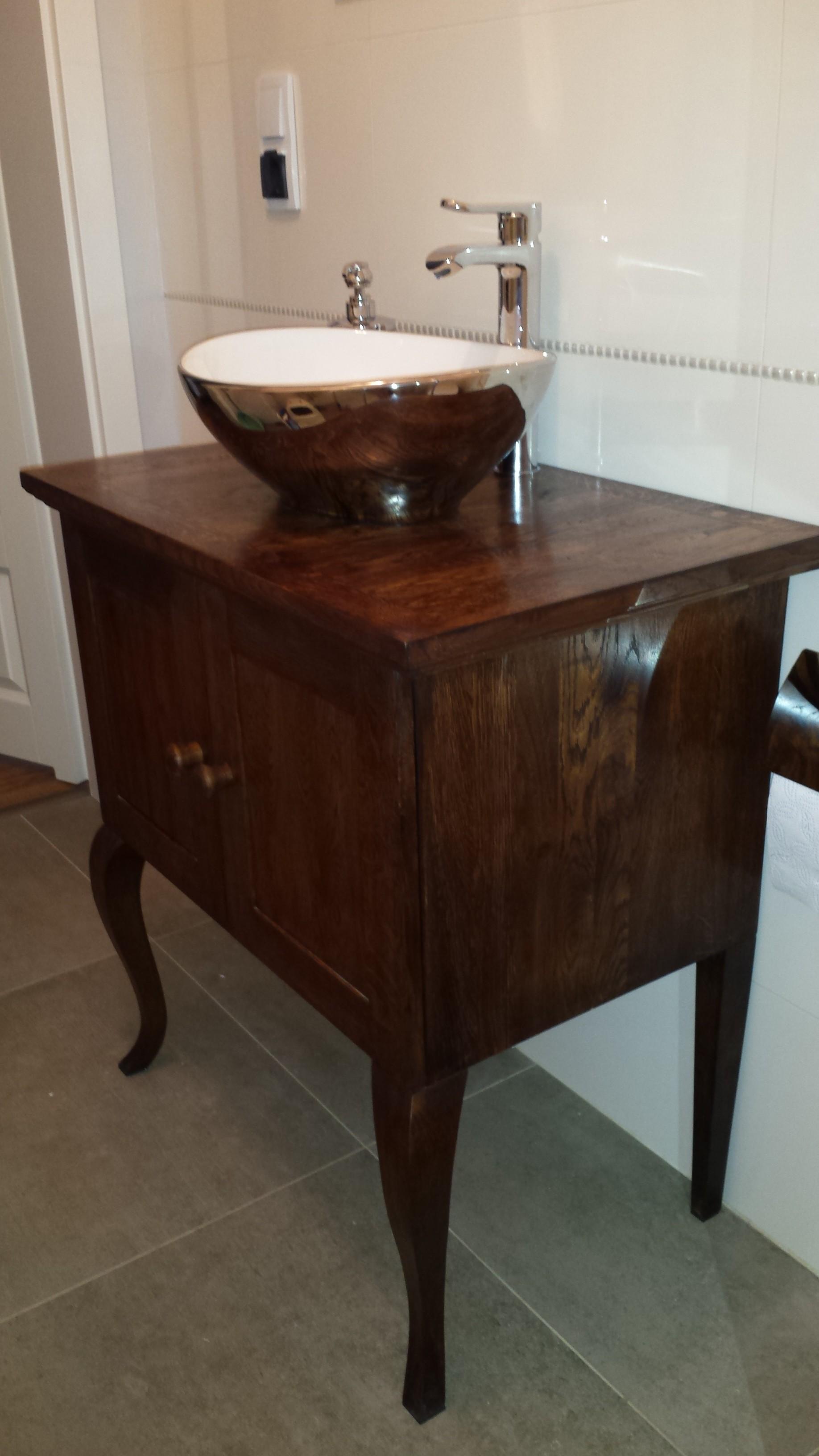 szafka łazienkowa stylizowana wrocław na zamówienie
