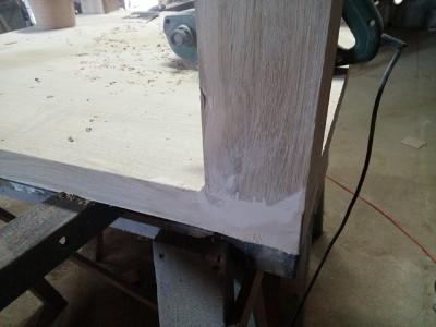 przygotowanie miejsc pod lakierowanie stolarz