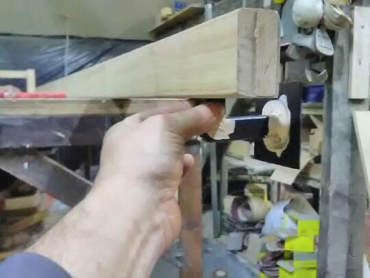 wspornik do pochwytu drewnianego