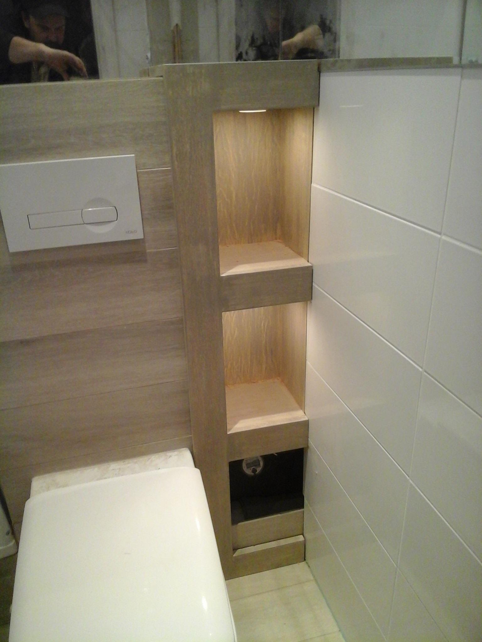 Meble łazienkowe Drewniane Stolarstwo Art