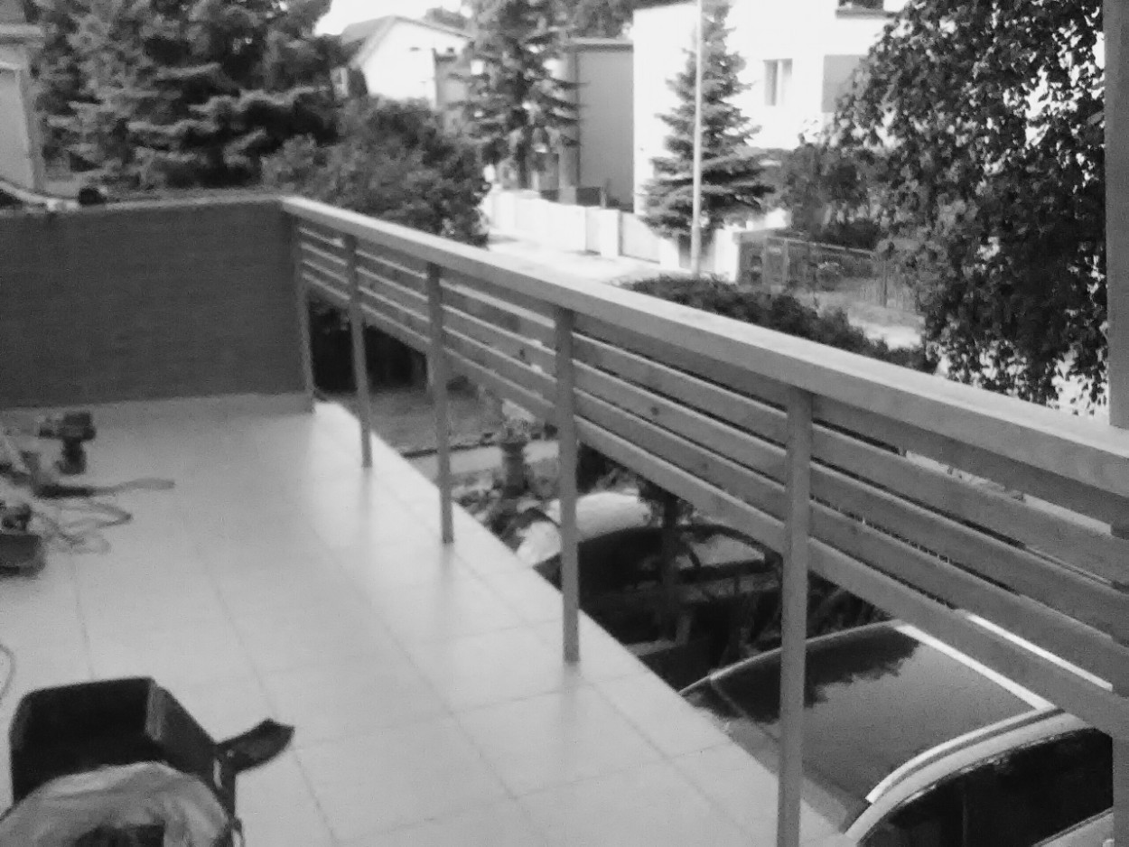 balustrada drewniana na zamówienie wrocław fabryczna