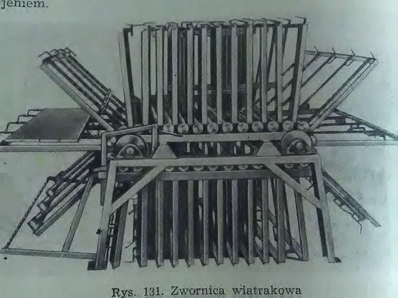 zwornica wiatrakowa jako bateria ścisków
