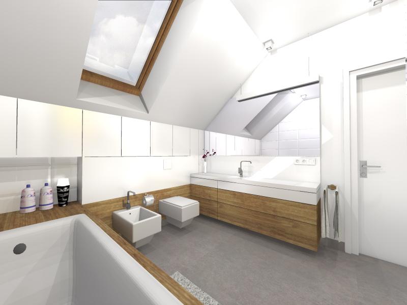 Projekt Aranżacji łazienki