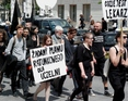 10 czerwiec 2015 - Czarna Procesja w Warszawie