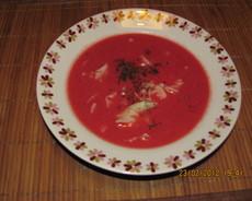 zupa buraczkowa w 5 minut