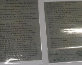 Akt poświęcenia szkoły 25 lipca 1948 roku.