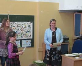 Wiktoria Ksel zajęła III miejsce.