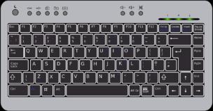 die Tastatur - klawiatura