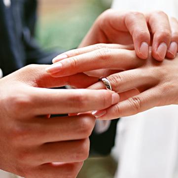 der Ehering - obrączka ślubna