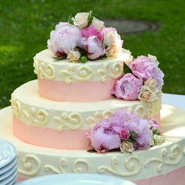 die Hochzeitstorte - tort ślubny