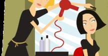 Beim Friseur - u Fryzjera