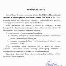 Gmina Miasta Brodnica 2017