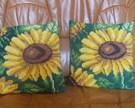 Poduszki słoneczniki