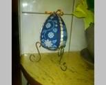 Jajko 12 cm na stojaku cena 35zł szt