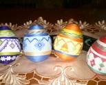 Jajka 8 cm cena za szt 13zł. kpl 50zł