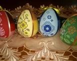 Jajka 8 cm cena  za szt 13zł. kpl 50 zł
