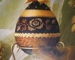Jajko 12 cm na stojaku cena 35zł