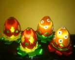 Jajka 10 cm cena 25zł szt
