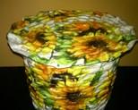 Koszyczek w słoneczniki