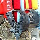 Medal z Półmaratonu Księżycowego, Rybnik