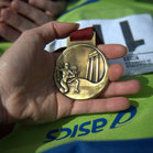 Maratona di Roma, medal - najważniejszy!