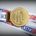 Prague Marathon, medal