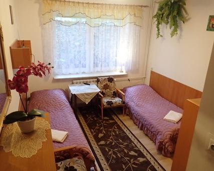 pokój nr 2 - duże łóżko lub 2 tapczany